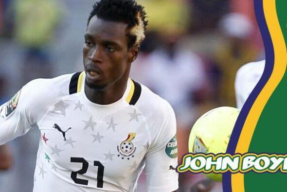 John Boye, es el defensa ghanés del Stade Rennais FC, quien también le p...