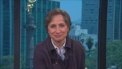 ¿Carmen Aristegui teme por su vida? La reconocida periodista le responde...