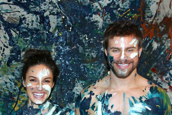 ¿Te habías imaginado cómo luciría una pintura hecha, literalmente, con a...
