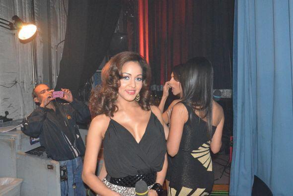Karol Rosa nos contó que cumple 10 años de ser modelo de Sábado Gigante....