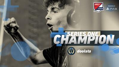 El representante de Philadelphia Union, campeón de la Serie Uno de la eMLS