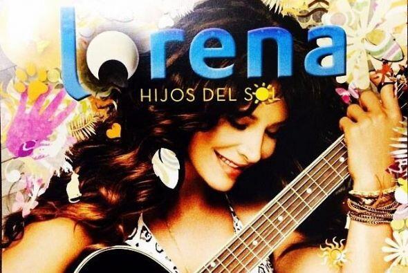"""Grabó su disco """"Hijos del Sol"""" donde debutó como cantante y compositora."""