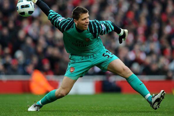 Al mantener su puerta sin recibir goles, Szczesny le ayudó al Arsenal sa...