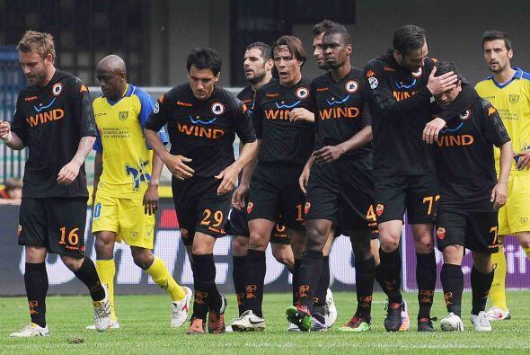 Los goles de Mirko Vucinic y Daniele de Rossi hacían soñar al 'cuadro de...