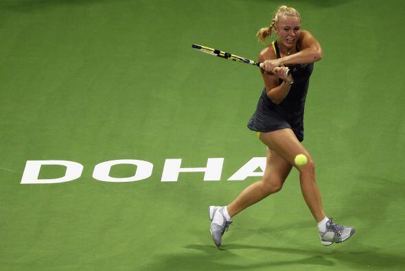 Con este triunfo, Wozniacki aseguró el primer lugar del ranking por el r...