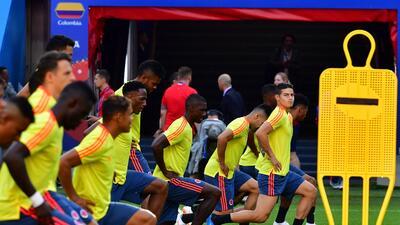 En fotos: Colombia y Polonia se juegan su destino en el Grupo H