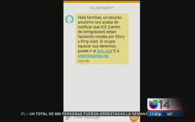 ¿Cómo surgió el rumor de una redada en San José y a qué ciudades afectó...