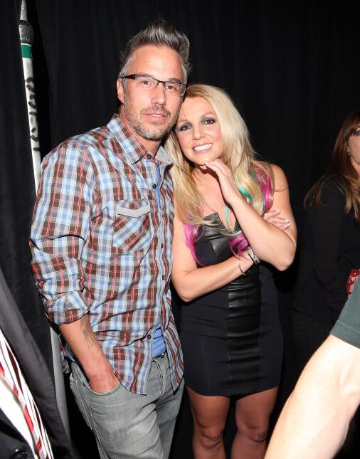 Britney Spears y Jason Trawick