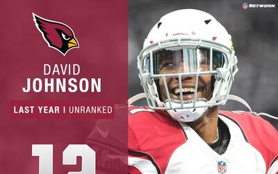 #12: David Johnson (RB, Cardinals) | Top 100 Jugadores 2017