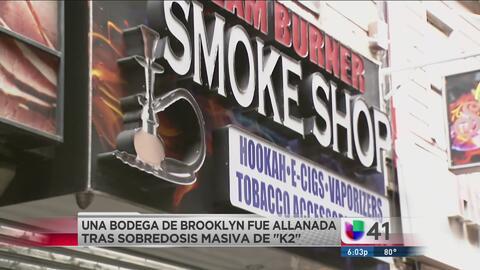 Decomisan droga sintética en negocio de Brooklyn