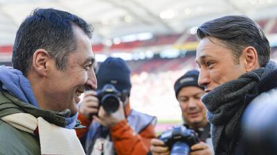 Fabián jugó 45 minutos y casi evitó el descalabro del Eintracht
