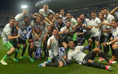 Real Madrid se consagró campeón del fútbol espa&nti...