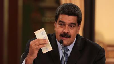 Maduro ordena una devaluación del 96 por ciento en una Venezuela golpeada por la hiperinflación
