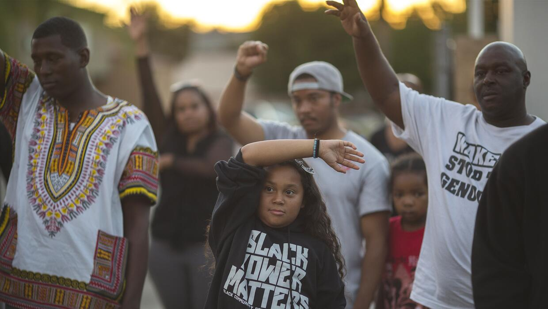 Una protesta en el suburbio de El Cajón, California, luego de la muerte...