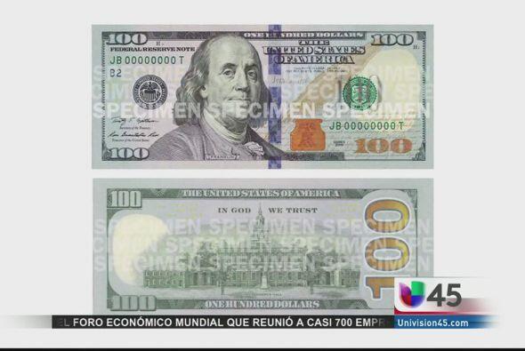 No, no se trata de un billete falso, sino de la nueva versión del billet...