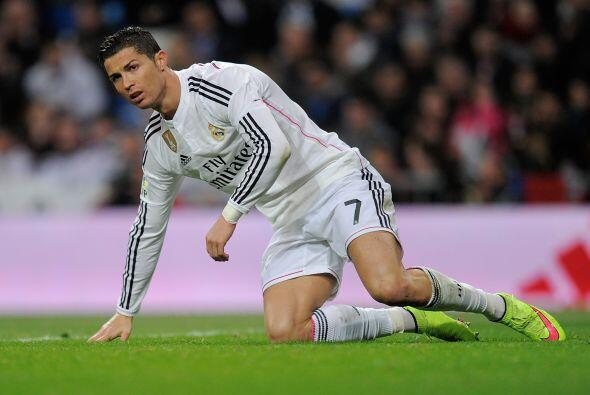 En contraparte, Cristiano Ronaldo, atraviesa un momento de irregularidad...
