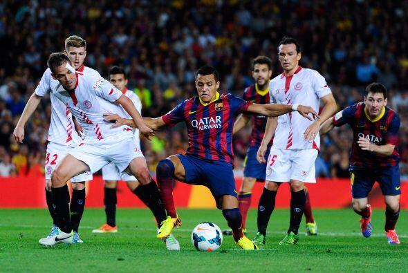 El Barça veía como se derrumbaba su paso perfecto y le arrancaban un pun...