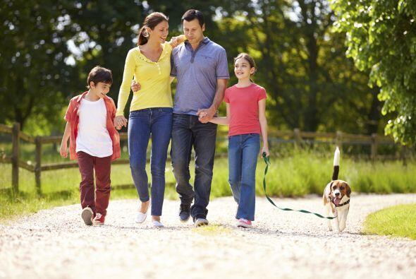 Un 71 por ciento de los papás señaló que su familia es lo primero, muy p...