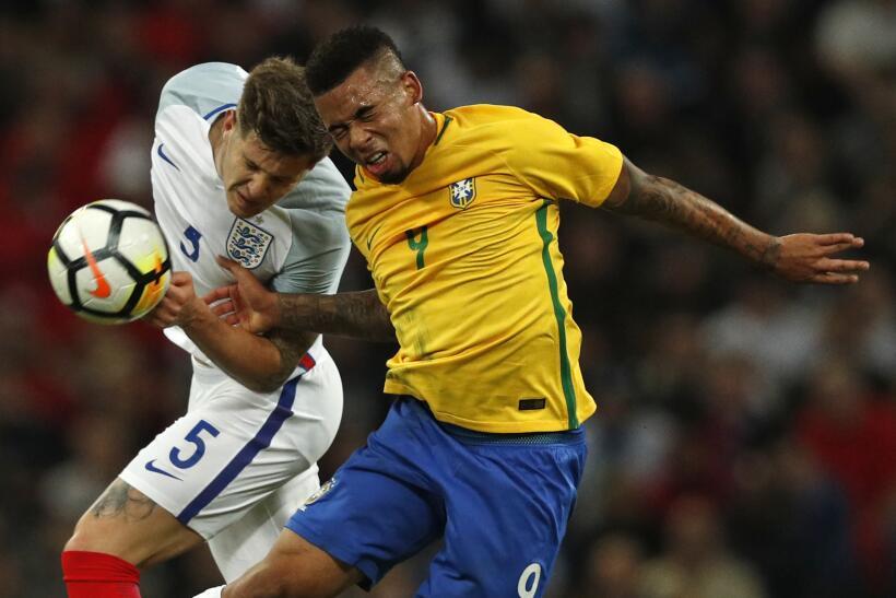 Inglaterra y Brasil empatan sin goles en Wembley gettyimages-874194996.jpg