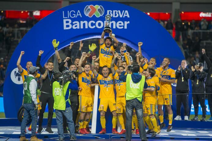 En fotos: Las mejores imágenes de la celebración de Tigres 20171210-2437...