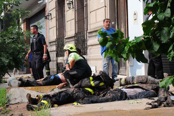 Los fallecidos son: Damián Veliz, Eduardo Conesa, Maximiliano Martínez,...