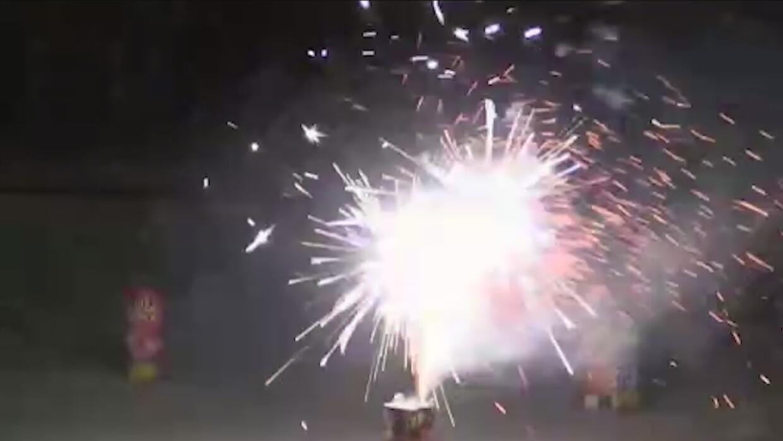 Multas para quien utilice fuegos artificiales de manera ilegal