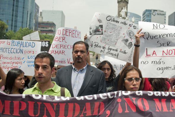 Los familiares de reporteros desaparecidos no están organizados pero Mar...