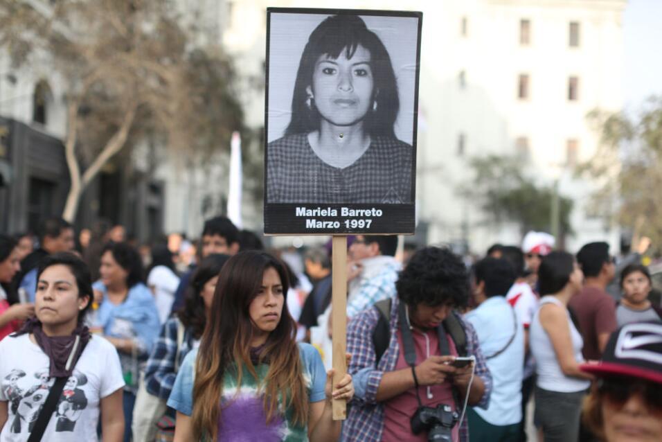 """""""No es odio ni rencor, es memoria y conciencia"""": Así fue la masiva prote..."""
