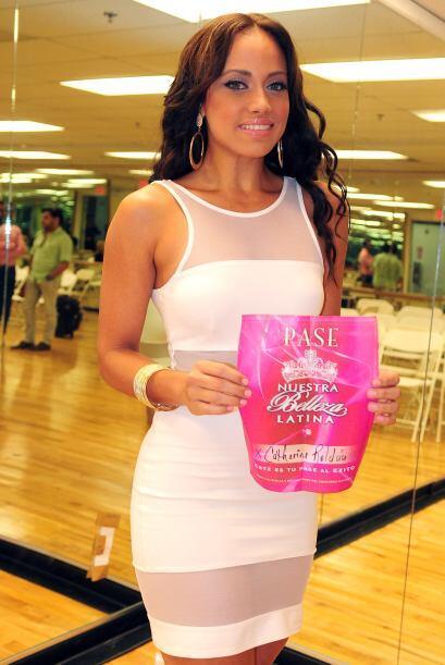 Catherine Roldán de Puerto Rico, audicionó en Puerto Rico. Ella es una d...