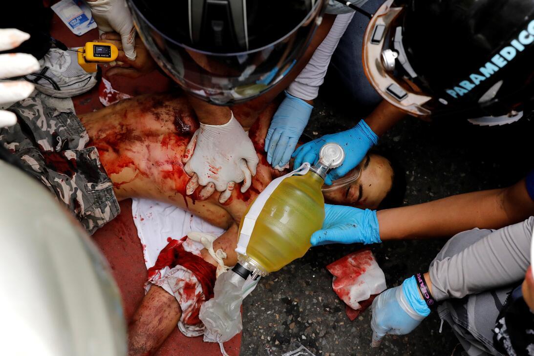 Muerte Neomar Hernández