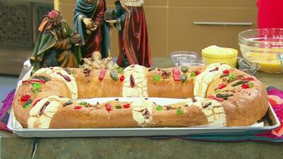 Aprende a hacer la tradicional Rosca de Reyes