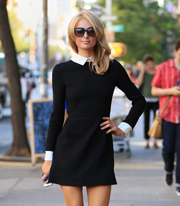 Paris Hilton Se Une A La Familia Addams
